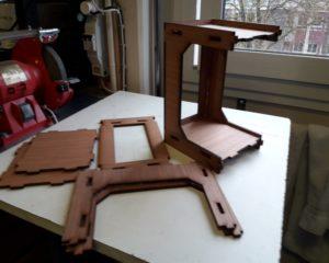 chassis en bois