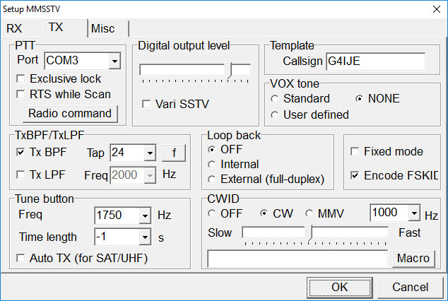MMSSTV FT991A