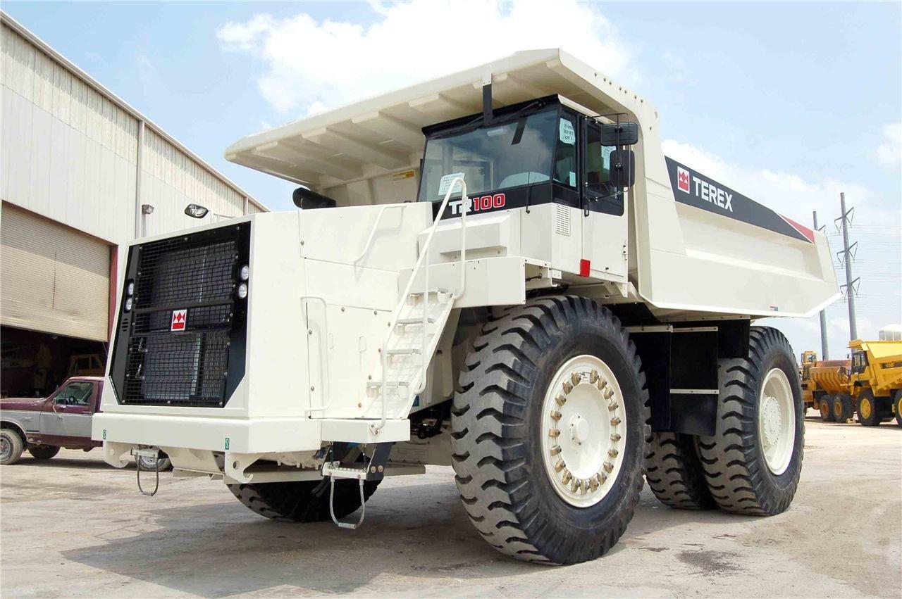 Dumper Terex TR100 2008